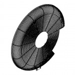 Airdyne 6 Left Fan Cage