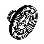 Airdyne Six Main Pulley Assembly