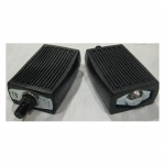 Airdyne Pedals, pair, no straps
