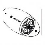 Elliptical Flywheel Assembly