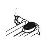 Rear Foot Endcap 470 Elliptical