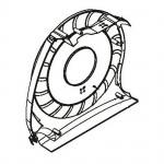 Left Main Shroud 470 Elliptical