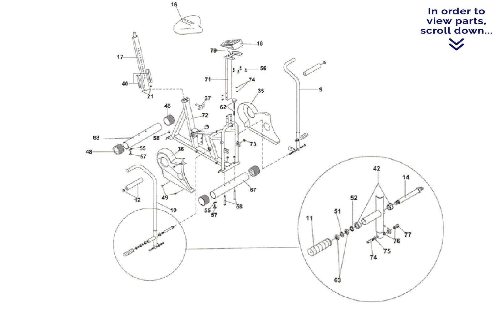 Airdyne Replacement Parts : Schwinn bike parts diagram bicycling and the best ideas