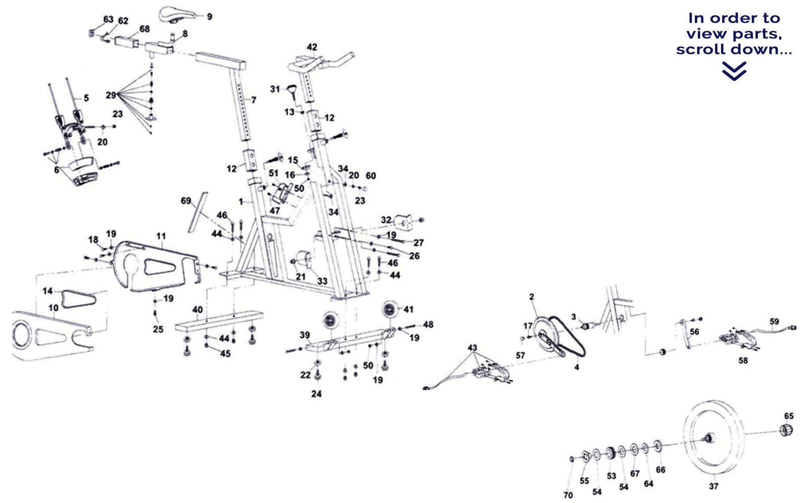 Schwinn Bicycle Parts Breakdown : Schwinn bike parts diagram bicycling and the best ideas